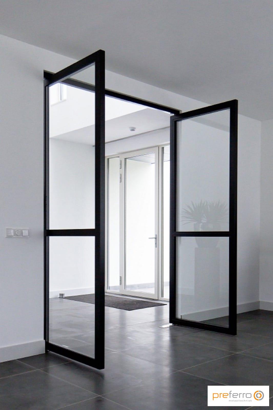 Stalen binnendeuren in woning