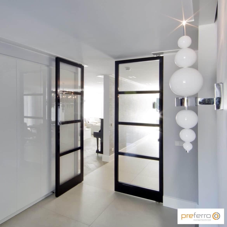 Tussendeuren Woonkamer: Portfolio moderne kamer en suite. Best ...